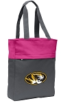 Mizzou Tote Bag Everyday Carryall Pink