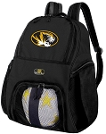 University of Missouri Soccer Backpack or Mizzou Volleyball Bag For Boys or Girls