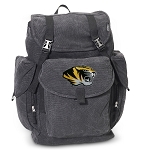 University of Missouri LARGE Canvas Backpack Black