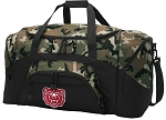 Official Missouri State University Camo Duffel Bags