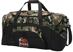 Official Miami University Camo Duffel Bags