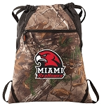 Miami University Redhawks RealTree Camo Cinch Pack