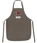 Miami University Dad Deluxe Apron Khaki