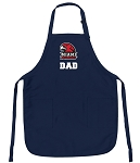 Miami University Dad Apron Navy