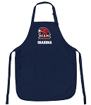 Miami University Grandma Apron Navy