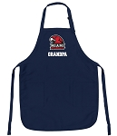 Miami University Grandpa Apron Navy