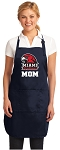 Miami University Mom Apron Navy