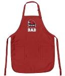 Miami University Dad Aprons Red