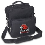 Miami University Redhawks Small Utility Messenger Bag or Travel Bag
