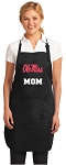 Official Ole Miss Mom Apron Black