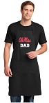 Ole Miss Dad Large Apron