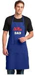 Ole Miss Dad Large Apron Royal