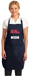 Ole Miss Mom Apron Navy