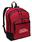 University of Mississippi Backpack CLASSIC STYLE Red