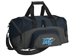 SMALL Middle Tennessee Gym Bag MT Duffle Navy