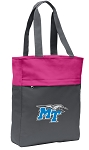 Middle Tennessee Tote Bag Everyday Carryall Pink
