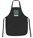 Official Marshall University Dad Apron Black