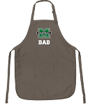 Official Marshall Dad Apron Tan