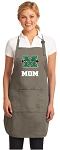 Marshall University Mom Deluxe Apron Khaki