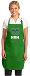 Deluxe Marshall University Mom Apron MADE IN THE USA Green