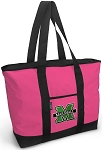 Deluxe Pink Marshall University Tote Bag