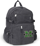 Marshall Canvas Backpack Black