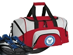 SMALL US NAVY Gym Bag United States Navy Duffle Red