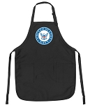 Official US NAVY Apron Black