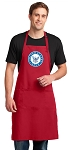 LARGE United States Navy APRON for MEN or Women RED