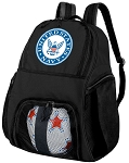 US NAVY Soccer Backpack or United States Navy Volleyball Bag For Boys or Girls