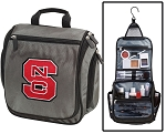 NC State Toiletry Bag or Shaving Kit Gray