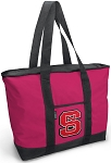Deluxe Pink NC State Tote Bag