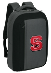NC State SLEEK Laptop Backpack Black