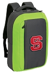 NC State SLEEK Laptop Backpack Green
