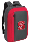 NC State SLEEK Laptop Backpack Red