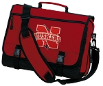 Nebraska Messenger Bag Red