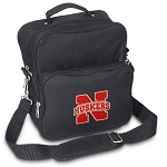 University of Nebraska Small Utility Messenger Bag or Travel Bag