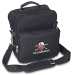 Nebraska Blackshirts Small Utility Messenger Bag or Travel Bag
