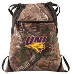 Northern Iowa RealTree Camo Cinch Pack