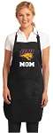 Official University of Northern Iowa Mom Apron Black