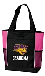 University of Northern Iowa GrandMa Tote Bag Pink
