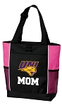 University of Northern Iowa Mom Tote Bag Pink