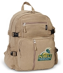 Norfolk State Canvas Backpack Tan