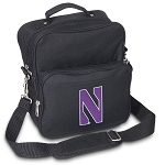 Northwestern Wildcats Small Utility Messenger Bag or Travel Bag