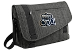 Old Dominion Messenger Laptop Bag Stylish Charcoal