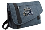 Old Dominion Messenger Laptop Bag Stylish Navy