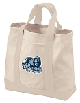 Old Dominion University Tote Bags NATURAL CANVAS