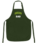 University of Oregon Dad Apron Green