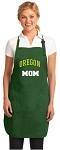 University of Oregon Mom Apron Green