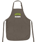 University of Oregon Grandpa Deluxe Apron Khaki